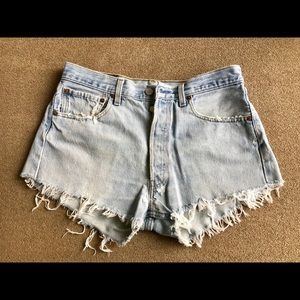 Levi Vintage Cutoff Shorts